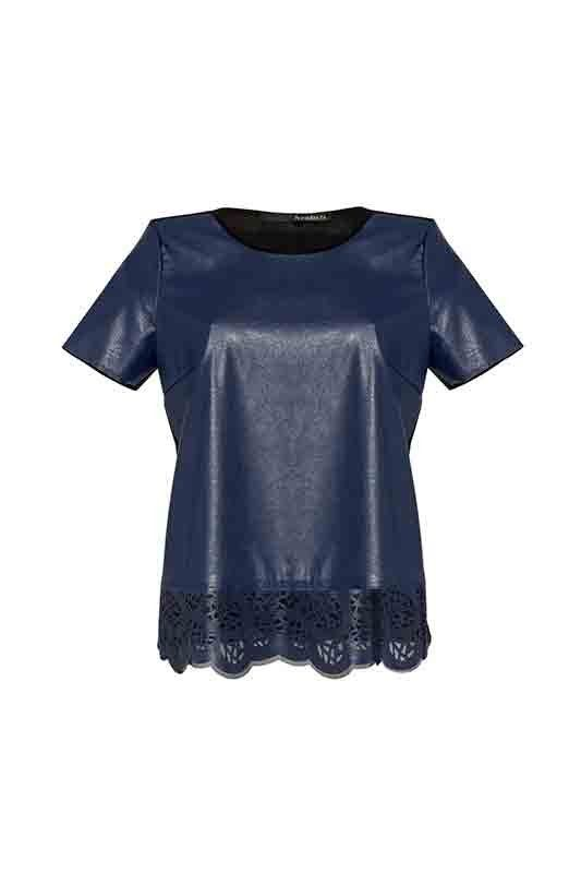 DEEP BLUE SOMETHING PER IL DAY&NIGHT DI ANNARITAN_t-shirt blu_MilanoPlatinum