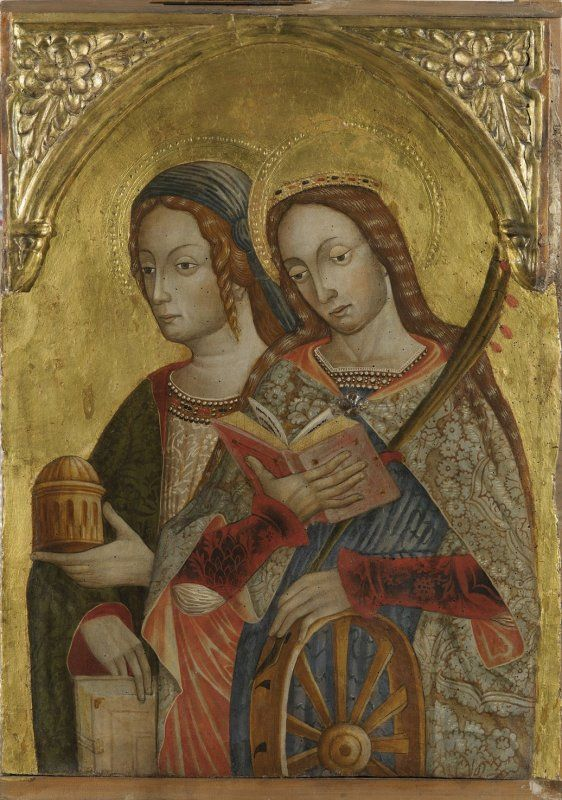 Santa Maddalena_Santa Caterina d'Alessandria_a