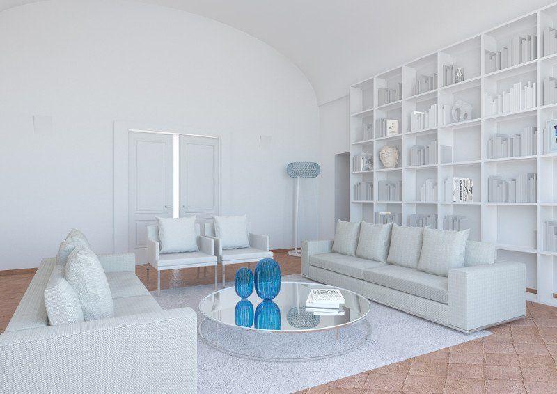 Capri, case da sogno_casa piazzetta_interno_MilanoPlatinum