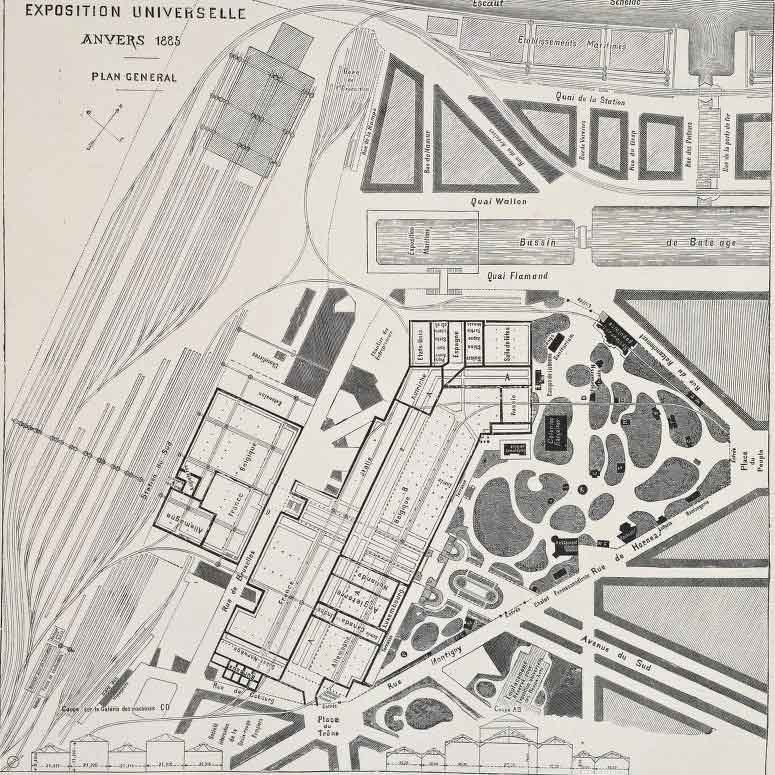 EXPO 1885 ANVERSA_mappa_MilanoPlatinum