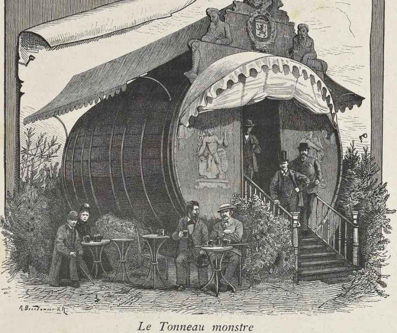 EXPO 1885 ANVERSA_tonneau monstre_MilanoPlatinum