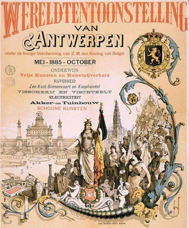 EXPO 1885 ANVERSA_manifesto_MilanoPlatinum