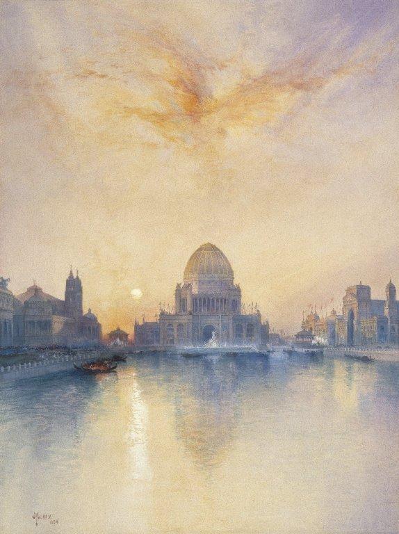 EXPO_1893_Chicago_Brooklyn_Museum_Chicago_World's_Fair__Thomas_Moran