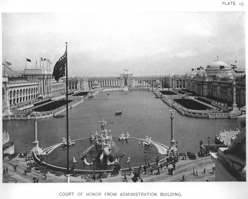EXPO_1893_Chicago_Court_Of_Honor