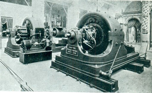 EXPO_1893_Chicago_Tesla_polyphase_AC_500hp_generator