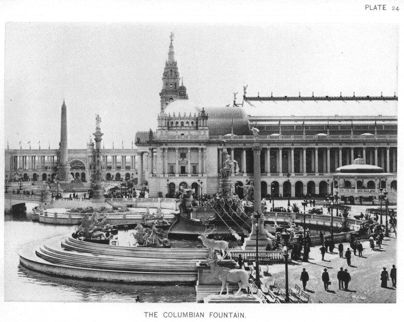 EXPO_1893_Chicago_The_Columbian_Fountain