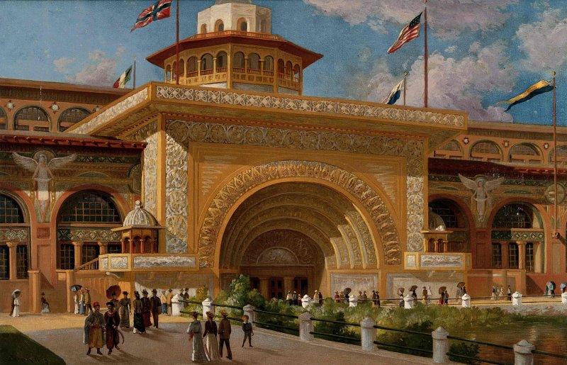 EXPO_1893_Chicago__entrance
