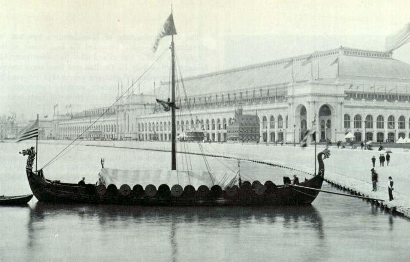 EXPO_1893_Chicago_replica_of_the_Gokstad_Viking_ship