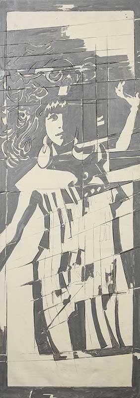 Giosetta-Fioroni.-Capri_fioronicapri8_Dance1969_MilanoPlatinum