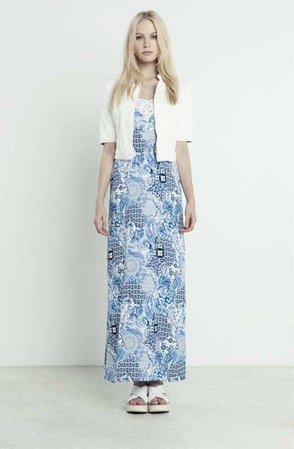 GREEK CHIC BY FRACOMINA_long dress maiolica_MilanoPlatinum