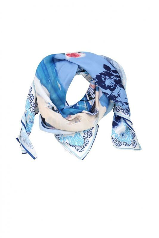 GREEK CHIC BY FRACOMINA_foulard_MilanoPlatinum