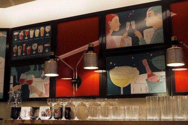 Langosteria Cafè Milano: il nuovo concept apre in riva al Duomo_Bar_MilanoPlatinum