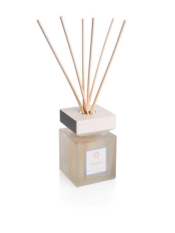 Le fragranze d'arredo di Locherber Milano_diffusore-di-profumazione-d'ambiente-linen-buds_linea natural_MilanoPlatinum