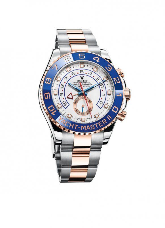 Rolex Yacht Master II, l'orologio dello skipper_Yacht-Master_oro blu