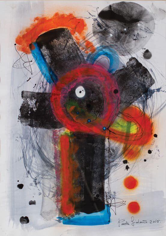 Paola Giordano: Souvenir, la mostra sull'isola azzurra_Crazy-Flowers_MilanoPlatinum
