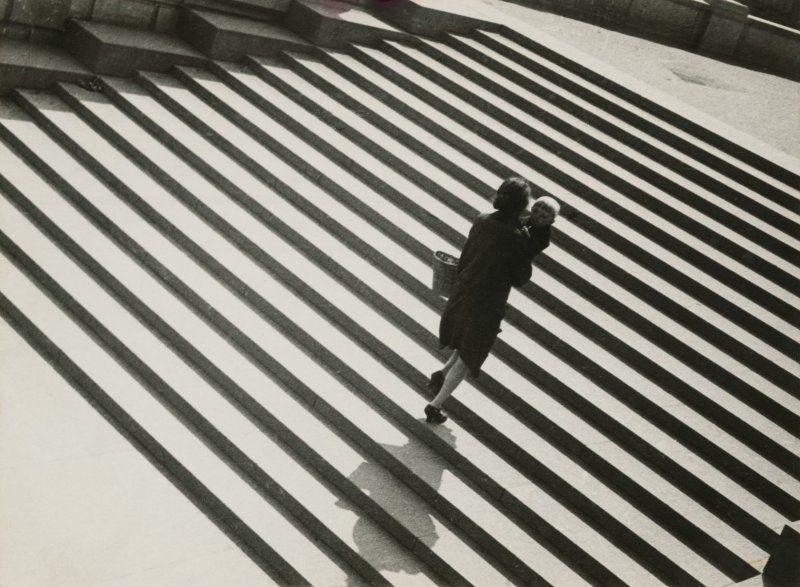 Aleksandr Rodčenko in mostra al LAC_foto_Rodchenko, Stairs, 1930_MilanoPlatinum