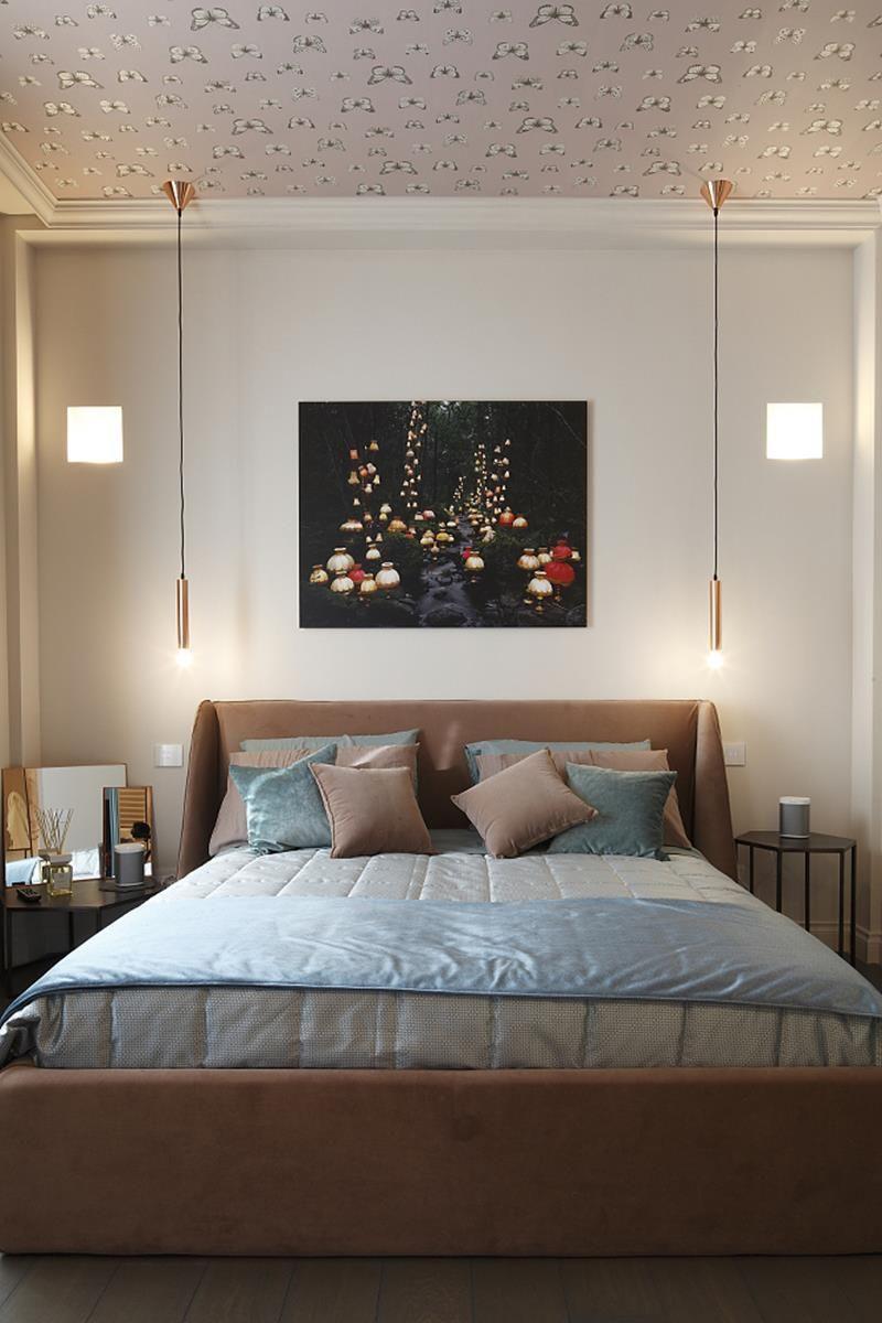 Andrea castrignano interior designer scrittore star for Illuminazione camera da letto matrimoniale