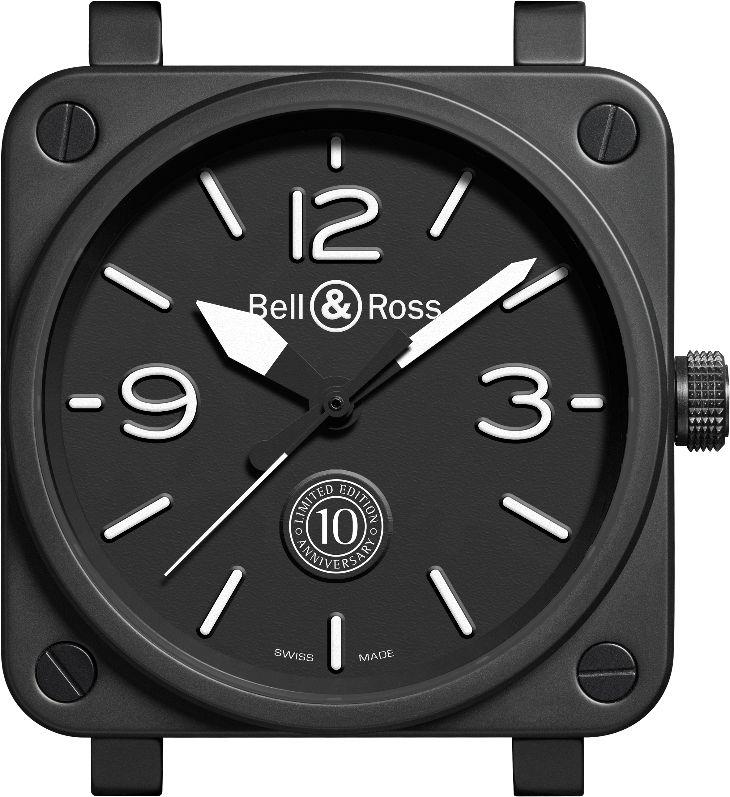 Bell&Ross BR 01 10 Anniversary_Case_MilanoPlatinum