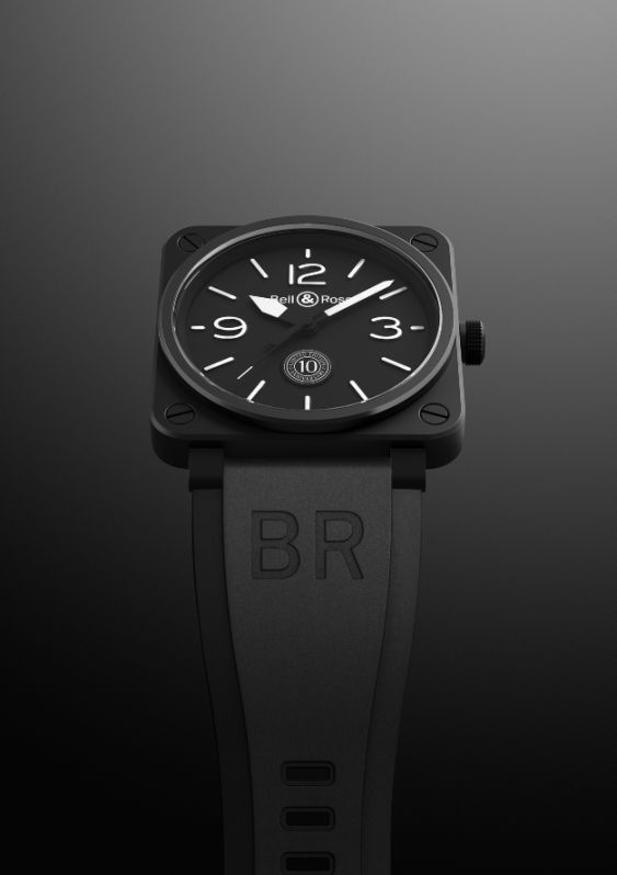 A Londra, la prima boutique Bell&Ross_10years_MilanoPlatinum