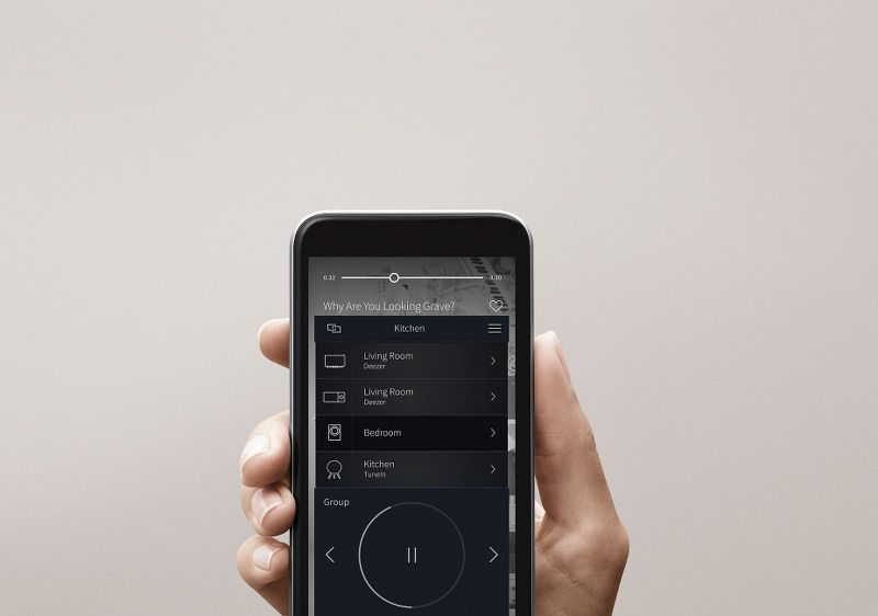 Bang Olufsen BeoLink Multiroom_App_MilanoPlatinum
