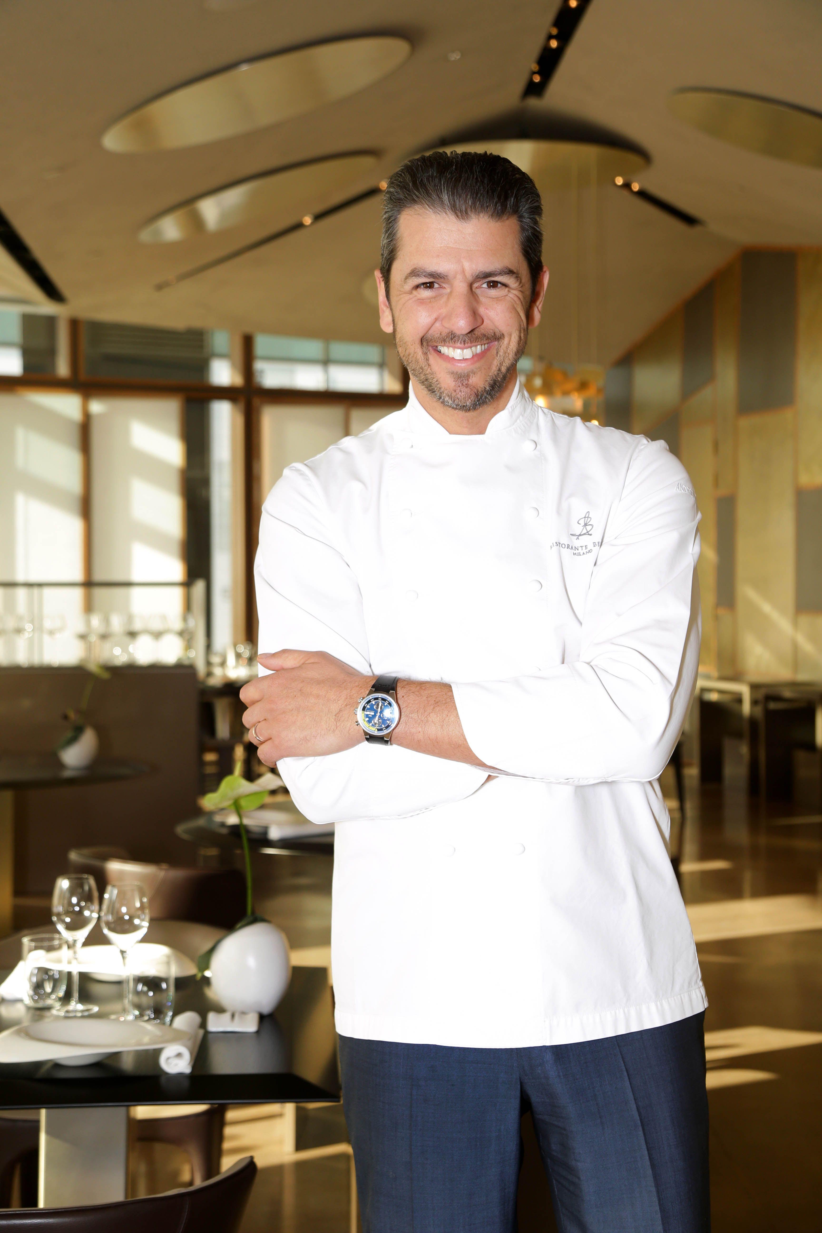 Andrea berton nel firmamento degli chef for Ristorante andrea berton