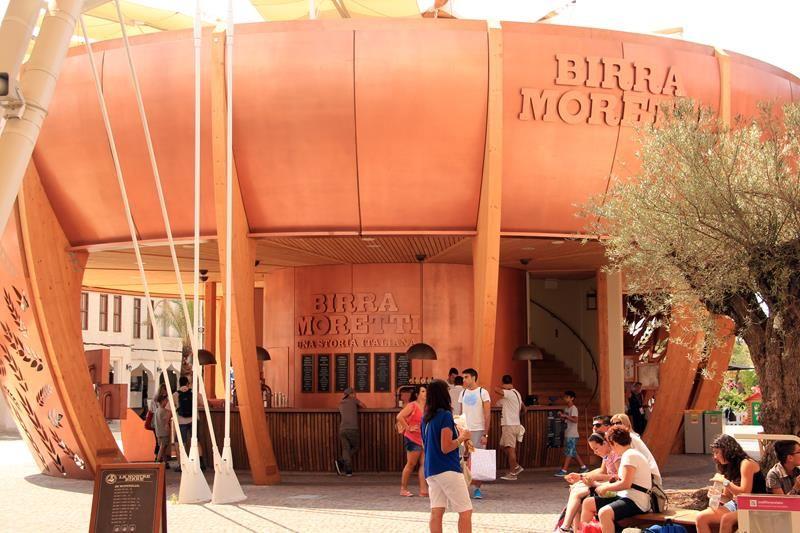PADIGLIONI SPONSOR EXPO 2015 - PADIGLIONE BIRRA MORETTI - 01