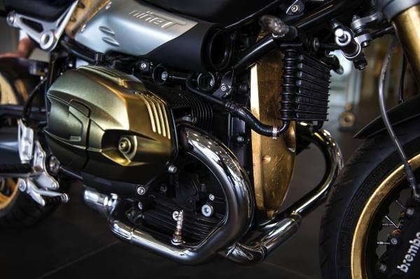 BMW R ninet, una livrea dal design particolare_motore_MilanoPlatinum
