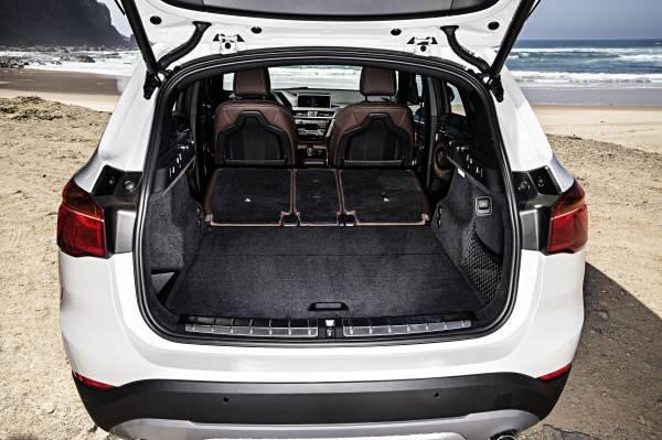 BMW X1, più robusta, più comoda, più urban_bagagliaio_MilanoPlatinum