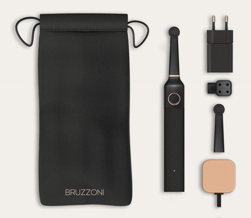 Bruzzoni lo spazzolino diventa anche di design_Kiitblack_MilanoPlatinum