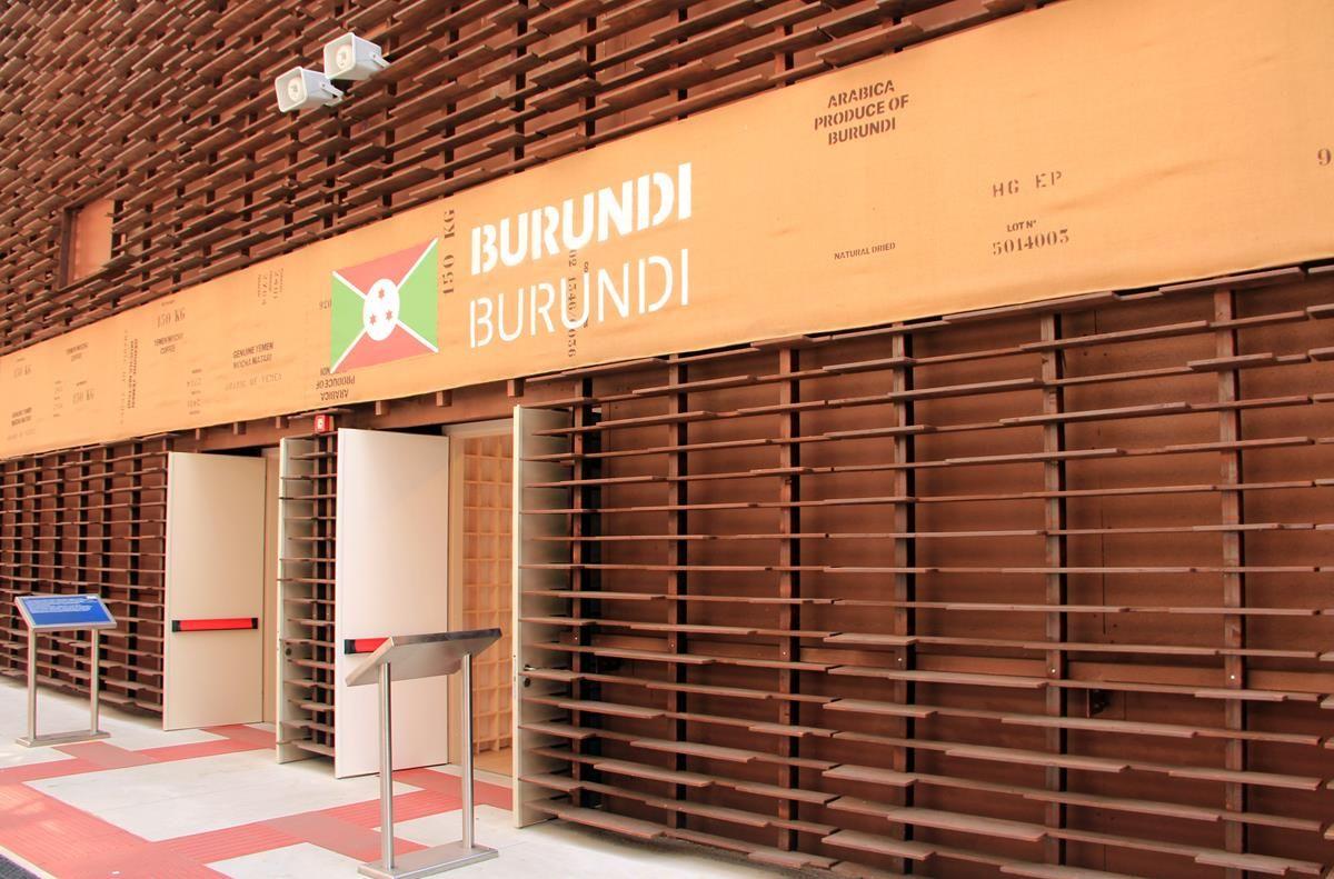 Cluster caffè EXPO 2015 - Burundi - MilanoPlatinum