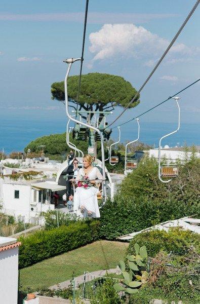 Matrimonio a Capri - Wedding planner by Capri Moments_funicolare_MilanoPlatinum