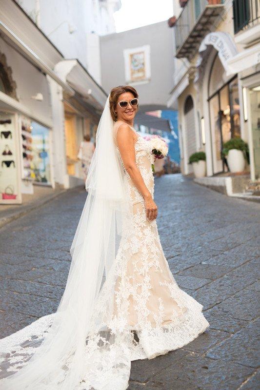 Matrimonio a Capri - Wedding planner by Capri Moments_sposa_MilanoPlatinum