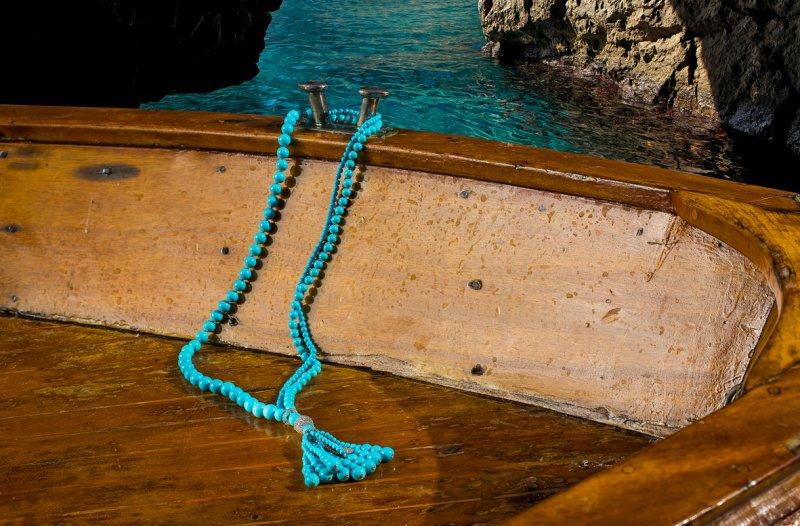 Il sole di Capri nei gioielli Chantecler.fotoSautoir Cherie_MilanoPlatinum