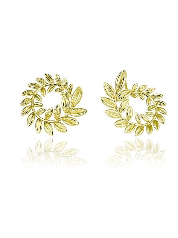 Chopard, la collezione palma verte_RosselliniWiedermannDelevigneCoureau_earrings_MilanoPlatinum