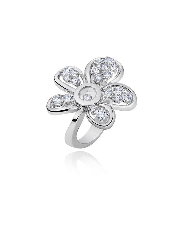 Chopard: Happy Diamonds Joaillerie_ring_MilanoPlatinum