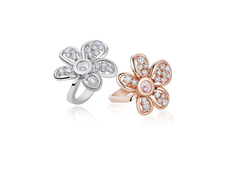 Chopard: Happy Diamonds Joaillerie_rings_MilanoPlatinum