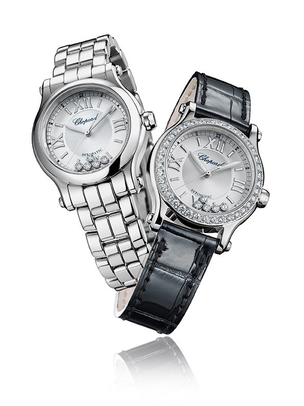 Chopard, per lei Happy Sport 30 mm Automatic_blackwhite_MilanoPlatinum