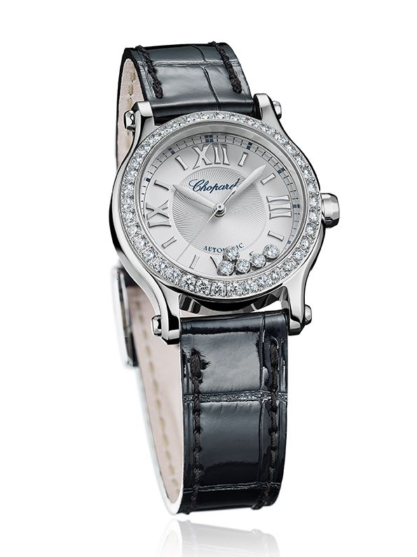 Chopard, per lei Happy Sport 30 mm Automatic_black_MilanoPlatinum