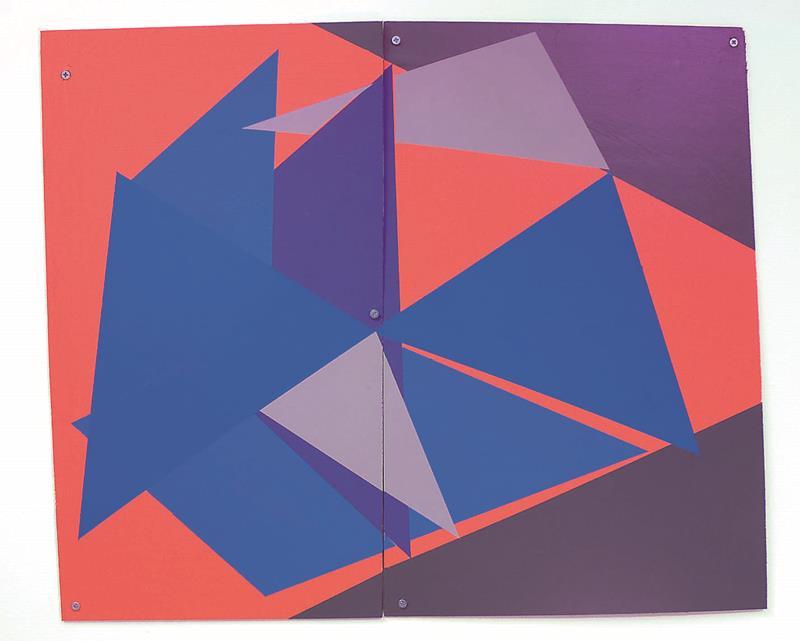 GALLERIA RICCARDO CRESPI - Lisi Raskin, untitled 1, 2009, wood and latex paint, 61x74,5cm