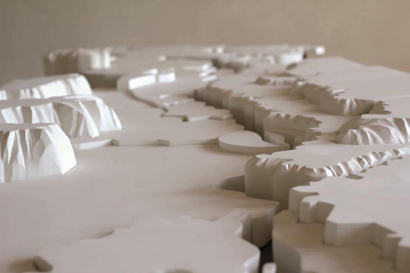 GALLERIA RICCARDO CRESPI - Stéphanie Nava, Le cours figé des lignes, 2012