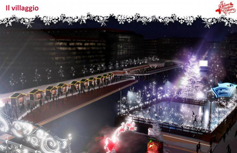 DARSENA CHRISTMAS VILLAGE 2015_Il villaggio_MilanoPlatinum