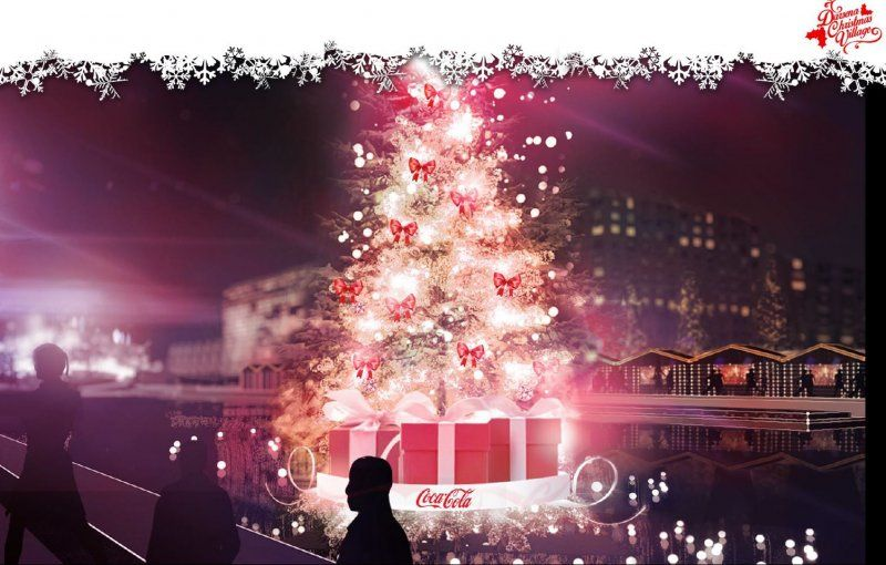 DARSENA CHRISTMAS VILLAGE 2015_albero_MilanoPlatinum