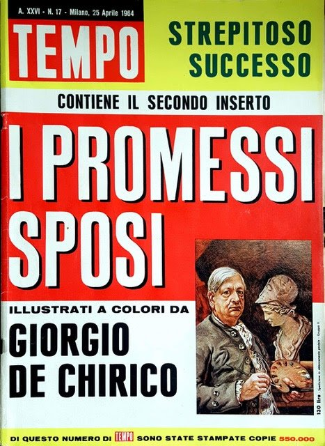 Come una diva del cinema sulla copertina di Tempo; n. 17; 1964