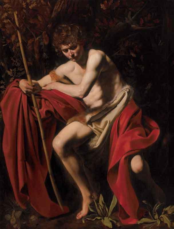 Michelangelo-Merisi-da-Caravaggio-San-Giovanni-Battista,-1603-Olio-su-tela,-172,7-x-132-cm-©The-Nelson-Atkins-Museum-of-Art,-Kansas-City,-Missouri