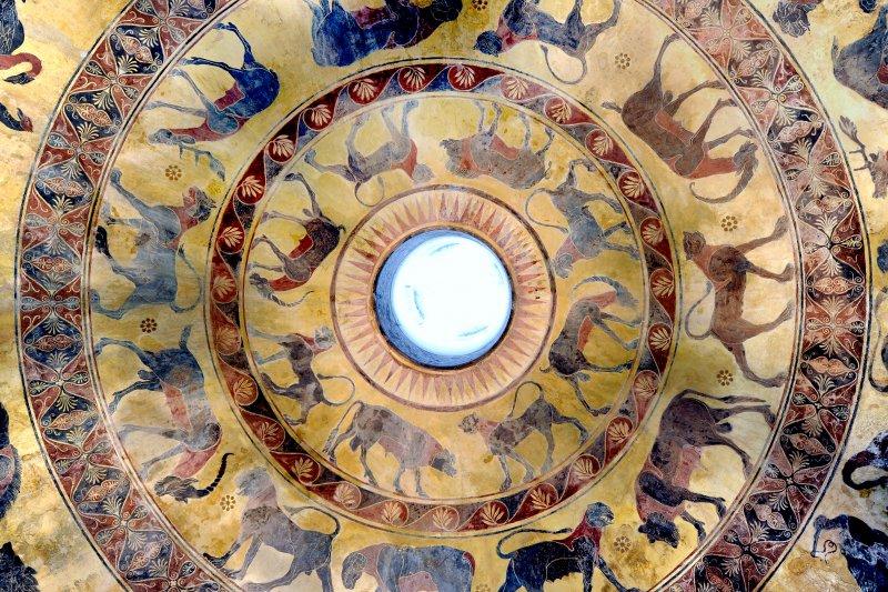 08_Circle-of-Life_soffitto-della-sala-Etrusca_sotterranei-di-villa-torlonia-dott.ssa-agati_eds