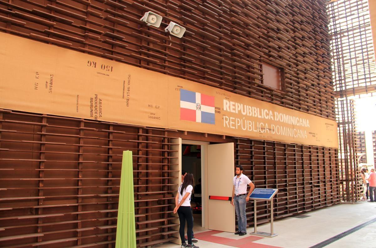 Cluster caffè EXPO 2015 - Repubblica Dominicana - MilanoPlatinum