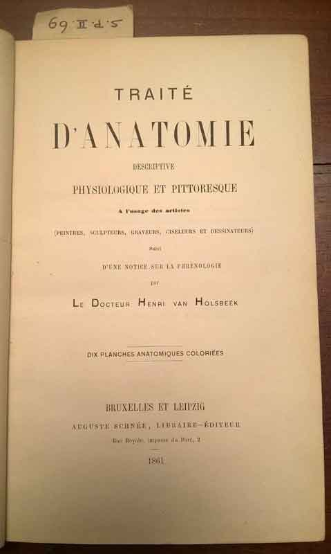 Traité-d'Anatomie-descriptive,-physiologique-et-pittoresque-à-l'usage-des-artistes-di-Henri-van-Holsbeék-(1861)