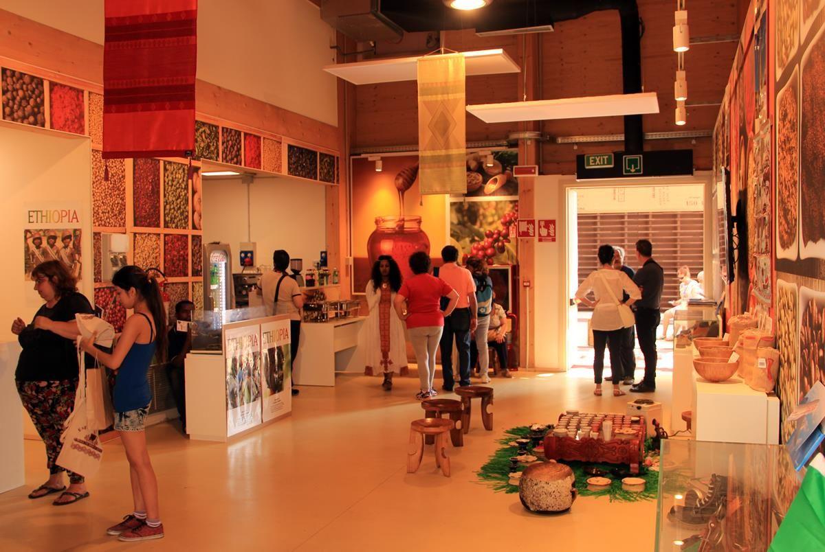 Cluster caffè EXPO 2015 - Etiopia - MilanoPlatinum