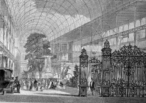 The Crystal Palace - Great Exhibition of the Industry of All Nations, 1851 - Illustrated Catalogue (Bradbury and Evans, 1851, p. xvii) (Wikimedia Commons)