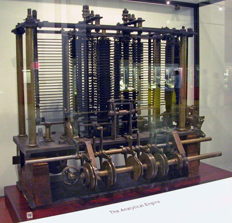 Analytical Machine Babbage London - Bruno Barral [CC BY-SA 2.5 via Wikimedia Commons]